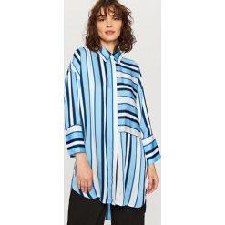 Koszule damskie: Koszula w paski – Wielobarwn