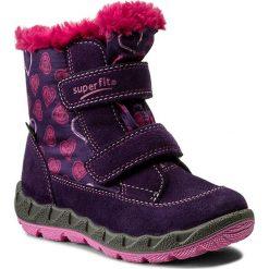 Kozaki dziewczęce: Śniegowce SUPERFIT – GORE-TEX 1-00015-54 S Raisin Kombi