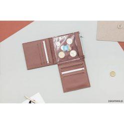 Portfele damskie: Pocket MIDI 3 / Dark Rose - portfel ze skóry