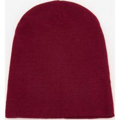Czapka beanie - Bordowy. Czerwone czapki damskie Reserved. Za 39,99 zł.