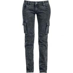 Black Premium by EMP Army Vintage Trousers Jeansy damskie szary. Niebieskie jeansy damskie relaxed fit marki Reserved. Za 194,90 zł.