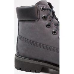 Timberland 6 IN PREMIUM WP BOOT Botki sznurowane forged iron. Szare buty zimowe damskie marki Timberland, z materiału, na sznurówki. W wyprzedaży za 356,30 zł.