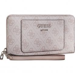 Duży Portfel Damski GUESS - SWSY71 74460 BLS. Czerwone portfele damskie Guess, z aplikacjami, ze skóry ekologicznej. Za 279,00 zł.