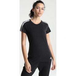 Adidas Performance SLIM TEE Tshirt basic black/white. Czarne t-shirty damskie adidas Performance, xxs, z bawełny. Za 129,00 zł.