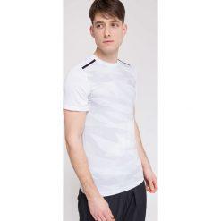 T-shirty męskie: Koszulka treningowa męska TSMF003 - biały