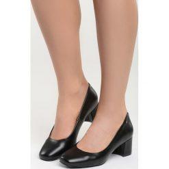 Buty ślubne damskie: Czarne Czółenka Pastiche Style