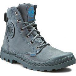 Buty zimowe damskie: Trapery PALLADIUM - Pampa Cuff Wp Lux 73231-452-M Nordic Blue