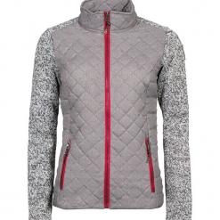 Kurtka przejściowa w kolorze szarym. Szare kurtki damskie marki Alpine Pro, xs, z materiału. W wyprzedaży za 260,95 zł.