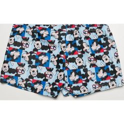 Blukids - Kąpielówki dziecięce Disney Mickey Mouse 86-98 cm. Szare kąpielówki męskie Blukids, z motywem z bajki, z dzianiny. Za 39,90 zł.