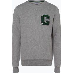 Calvin Klein - Męska bluza nierozpinana, szary. Pomarańczowe bluzy męskie marki Calvin Klein, l, z bawełny, z okrągłym kołnierzem. Za 549,95 zł.