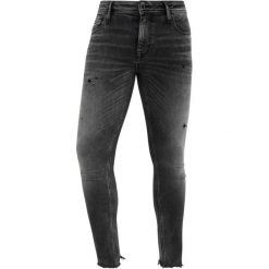 Antony Morato SUPER MERCURY Jeans Skinny Fit nero. Zielone rurki męskie marki Antony Morato, m, z bawełny. Za 469,00 zł.