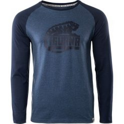 IGUANA Koszulka męska Themba dark denim melange/dress blues r. XL. Brązowe koszulki sportowe męskie marki IGUANA, s. Za 63,54 zł.
