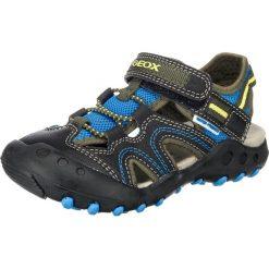GEOX Kids Buty otwarte 'Kyle'  niebieski / kobalt niebieski / szary. Niebieskie buciki niemowlęce chłopięce geox kids, z materiału, z otwartym noskiem, z paskami. Za 273,00 zł.