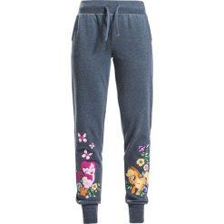My Little Pony Pinkie Pie und Applejack Spodnie dresowe damskie odcienie niebieskiego. Niebieskie spodnie dresowe damskie My little Pony, s, z nadrukiem, z dresówki. Za 99,90 zł.