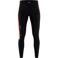 Spodnie dresowe damskie: Craft Spodnie damskie Radiate Tights czarno-pomarańczowe r. XXL (1905389-999801)