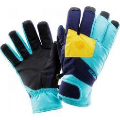 Rękawiczki damskie: IGUANA Rękawiczki damskie ELMA W Blue Radiance r. L/XL