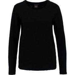 Swetry klasyczne damskie: ICHI MERCUNA  Sweter black