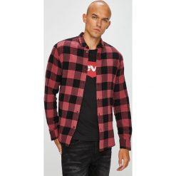 Only & Sons - Koszula. Brązowe koszule męskie w kratę marki Only & Sons, l, z bawełny, z klasycznym kołnierzykiem, z długim rękawem. W wyprzedaży za 99,90 zł.