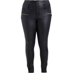City Chic JEAN SKYLAR CORSET SK Jeansy Slim Fit black. Czarne jeansy damskie marki City Chic. W wyprzedaży za 303,20 zł.