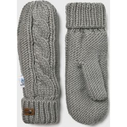 Roxy - Rękawiczki. Szare rękawiczki damskie Roxy. W wyprzedaży za 99,90 zł.