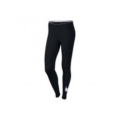Legginsy Gym & Pilates Swoosh 100 damskie. Czarne legginsy sportowe damskie marki Nike, xs, z bawełny. Za 119,99 zł.