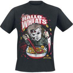 T-shirty męskie: Halloween Michael Myers - Hallo-Wheats Cereal T-Shirt czarny