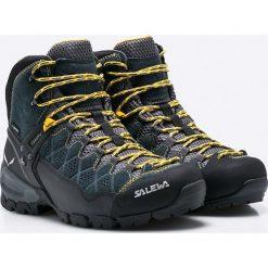 Salewa - Buty MS ALP Trainer Mid. Czarne buty trekkingowe męskie Salewa, z gore-texu, na sznurówki, outdoorowe, gore-tex. Za 849,90 zł.