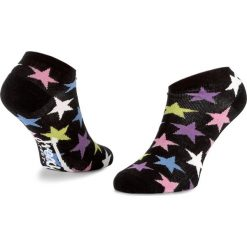 Skarpety Stopki Męskie FREAK FEET - LPAR-BLW Czarny Kolorowy. Czarne skarpetki męskie Freak Feet, w kolorowe wzory, z bawełny. Za 19,99 zł.