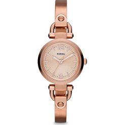 Zegarek FOSSIL - Georgia ES3268  Rose Gold/Rose Gold. Różowe zegarki damskie marki Fossil, szklane. Za 509,00 zł.