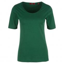 S.Oliver T-Shirt Damski 34 Zielony. Zielone t-shirty damskie S.Oliver, s, z bawełny. W wyprzedaży za 39,00 zł.