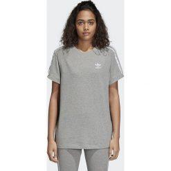 Koszulka adidas 3 stripes (CY4982). Szare t-shirty damskie Adidas, z bawełny. Za 89,99 zł.