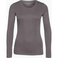 Brookshire - Damska koszulka z długim rękawem, szary. Czarne t-shirty damskie marki brookshire, m, w paski, z dżerseju. Za 49,95 zł.