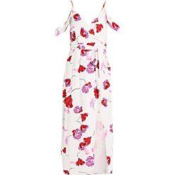 Długie sukienki: Bardot WRAP DRESS Długa sukienka white