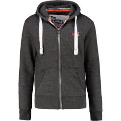 Superdry Bluza rozpinana low light black grit. Pomarańczowe bluzy męskie rozpinane marki Superdry, l, z bawełny, z kapturem. Za 389,00 zł.