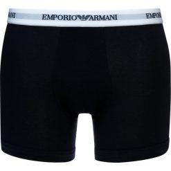 Emporio Armani 2 PACK Komplet bielizny white/blue. Białe bokserki męskie Emporio Armani, z bawełny. Za 159,00 zł.