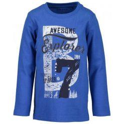 Blue Seven Koszula Chłopięca Z Nadrukiem 122 Niebieski. Niebieskie koszule chłopięce Blue Seven, z nadrukiem, z bawełny. Za 49,00 zł.