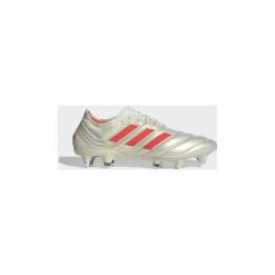 Buty do piłki nożnej adidas  Buty Copa 19.1 SG. Białe halówki męskie Adidas, do piłki nożnej. Za 849,00 zł.