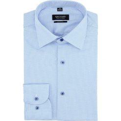 Koszula versone 2813 długi rękaw slim fit niebieski. Szare koszule męskie slim marki Recman, m, z długim rękawem. Za 139,00 zł.