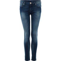 True Religion CASEY Jeans Skinny Fit blue stretch denim. Niebieskie boyfriendy damskie True Religion. W wyprzedaży za 845,10 zł.