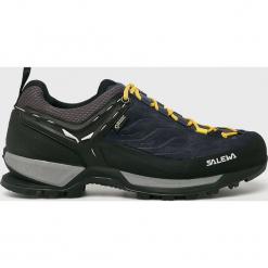Salewa - Buty. Czarne buty trekkingowe męskie Salewa, z gore-texu, na sznurówki, outdoorowe, gore-tex. W wyprzedaży za 699,90 zł.