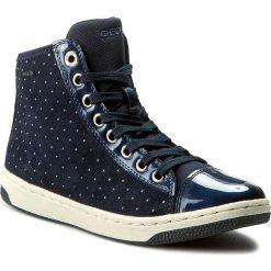 Sneakersy GEOX - J Creamy A J64L5A 022HI C4002 D Morski. Niebieskie buty sportowe chłopięce Geox, z materiału. W wyprzedaży za 189,00 zł.