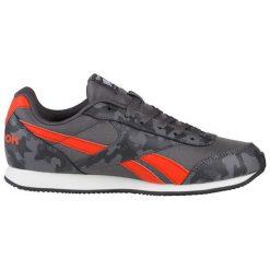 Buty sportowe w kolorze szaro-czerwonym. Brązowe buty sportowe męskie marki Reebok, z materiału. W wyprzedaży za 219,95 zł.
