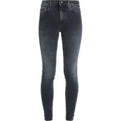 Replay JOI PANTS Jeans Skinny Fit blue black denim. Niebieskie jeansy damskie relaxed fit marki Replay. Za 559,00 zł.