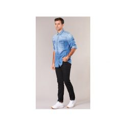 Jeansy slim fit Lee  RIDER. Czarne jeansy męskie relaxed fit Lee. Za 279,30 zł.