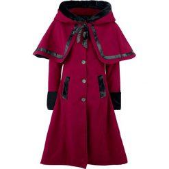 Vixxsin Elena Coat Płaszcz damski czerwony. Czerwone płaszcze damskie z futerkiem Vixxsin, na zimę, m, w paski. Za 489,90 zł.