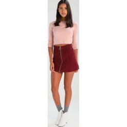 Spódniczki trapezowe: Topshop Spódnica trapezowa burgundy