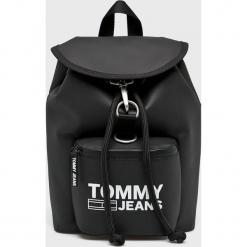 Tommy Jeans - Plecak. Czarne plecaki damskie marki Tommy Jeans, z jeansu. Za 449,90 zł.