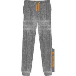 Chinosy chłopięce: IQ Spodnie juniorskie NOTAR JR Grey Melange/ Bright Marigold r. 140