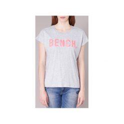 T-shirty z krótkim rękawem Bench  BLWG001981. Szare t-shirty damskie Bench, s. Za 76,30 zł.