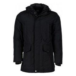 Płaszcze męskie: Geox Płaszcz Męski 54 Czarny